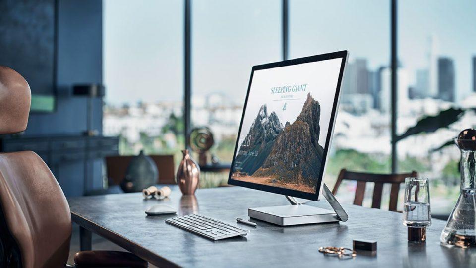 Microsoft pokazał Surface Studio, ładny komputer