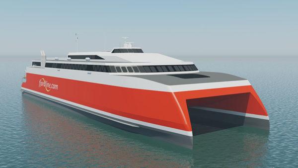 Nowe możliwości podróżowania do Norwegii - Fjord Line buduje nowoczesny katamaran
