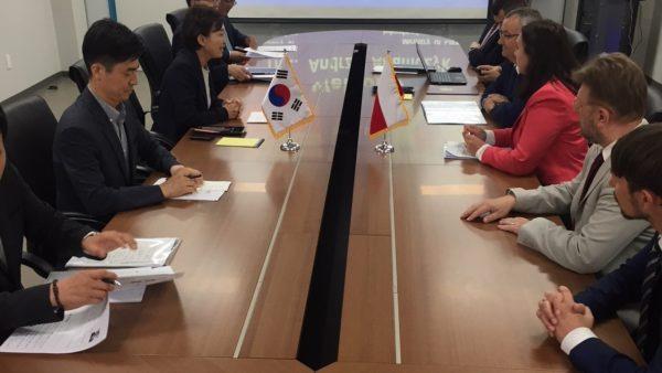 Wizyta ministra Adamczyka w Republice Korei
